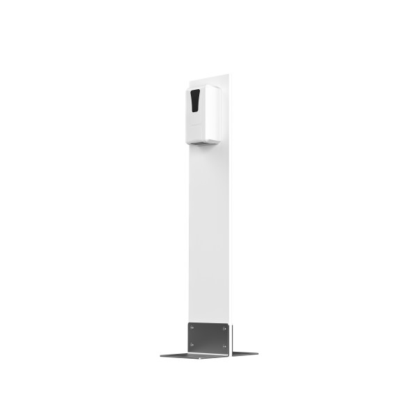Desinfektions-System Alvaro ST, Kunststoff Frostweiß, mit SensorTouch-Spender