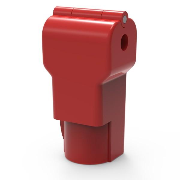 Easysafe Hakenschloss für Einzelhaken 4,0 mm rot