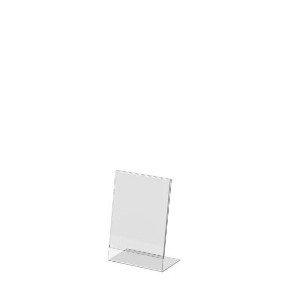 L-Aufsteller aus Acrylglas, DIN A6