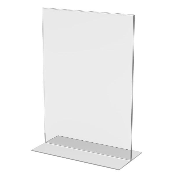 T-Aufsteller aus Acrylglas, DIN A4