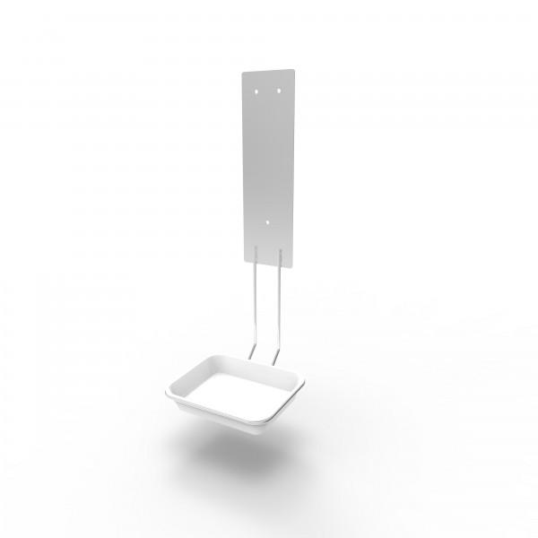 Tropfschale für SensorTouch, Edelstahlhalterung