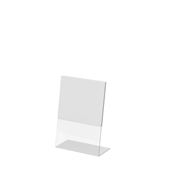 L-Aufsteller aus Acrylglas, DIN A5