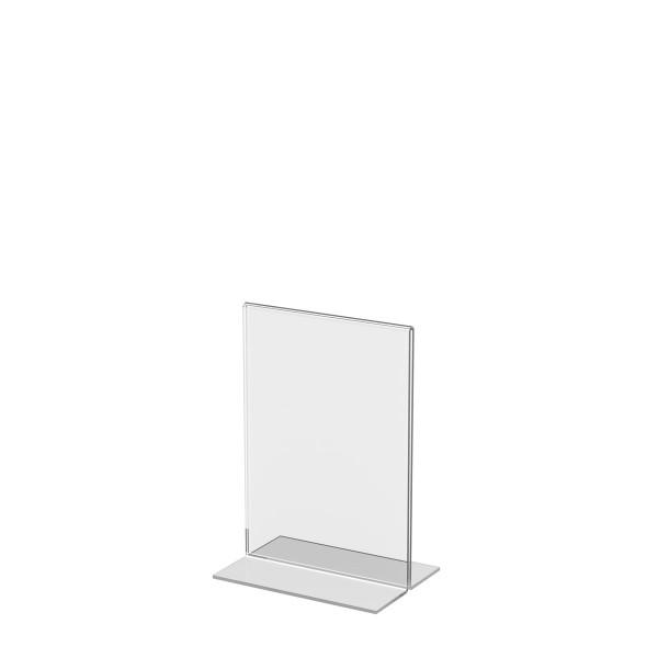 T-Aufsteller aus Acrylglas, DIN A6