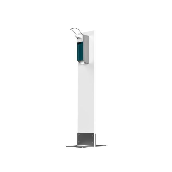 Desinfektions-System Alvaro PS, Kunststoff Frostweiß, mit Pumpspender
