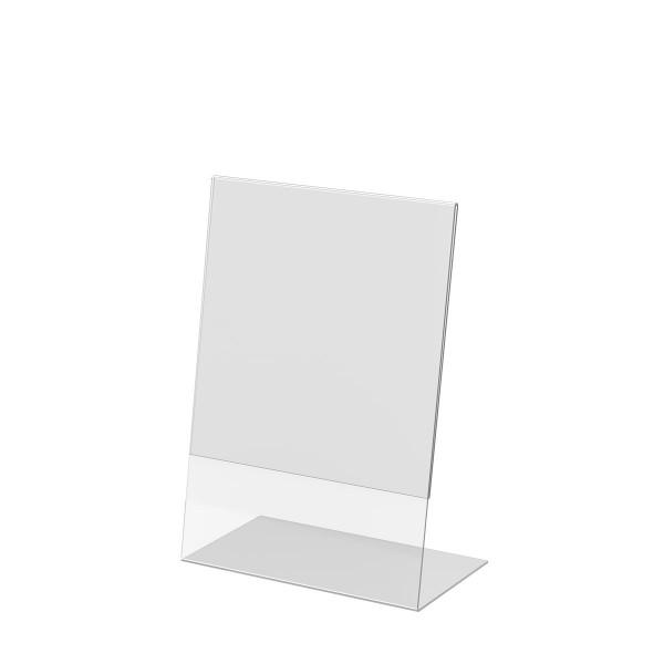 L-Aufsteller aus Acrylglas, DIN A4