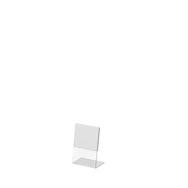 L-Aufsteller aus Acrylglas, DIN A7
