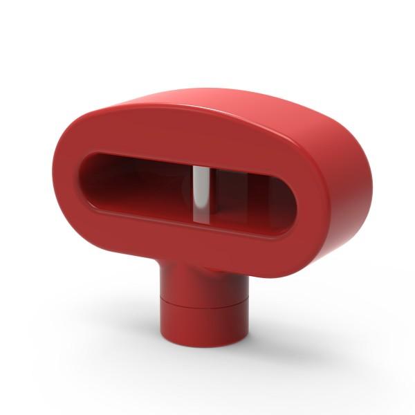 Easysafe Hakenschloss für Doppelhaken rot