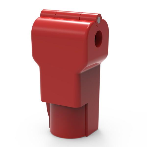 Easysafe Hakenschloss für Einzelhaken 4,8 mm rot