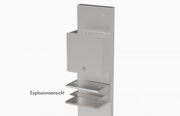 Tropfschale für Geck SensorTouch-Spender, Edelstahl