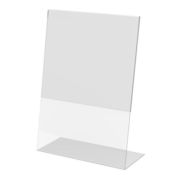 L-Aufsteller aus Acrylglas, DIN A3