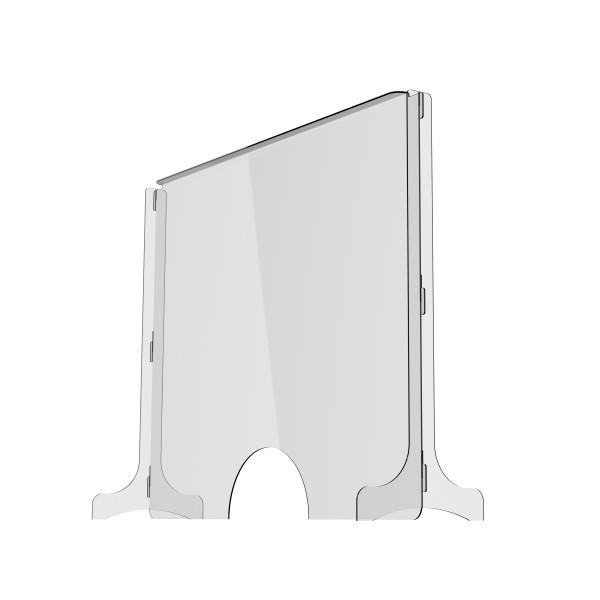 Spuck- und Hustenschutz flexibel steck- und demontierbar 1000x800x300 mm